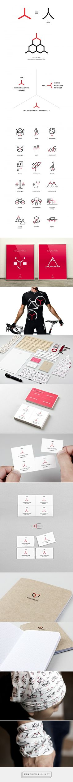The Chain Reaction Project on Behance... - a grouped images picture - Pin Them All