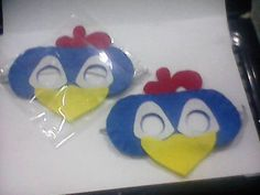 Mascara Galinha Pintadinha Mascara infantil em feltro Fazemos outros personagens Perfeito para lembrancinhas Mínimo de 10 unidades. R$ 4,00