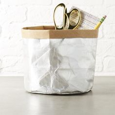 silver papier catchall.  /