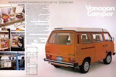 Volkswagen Vanagon 1982 Westfalia this looks like the van I spent my childhood in. It was even the ugly poop brown.