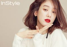 """Jung Ryeo Won Says She's Nothing Like Her """"Witch's Court"""" Character In Real Life Jung Ryeo Won, Instyle Magazine, K Beauty, Celebs, Celebrities, Korean Drama, Girl Crushes, Love Her, Real Life"""