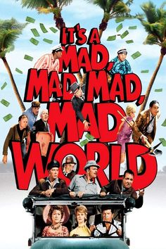 It's a Mad, Mad, Mad, Mad World (1963) - one of my all time favorite movies!  Lol!