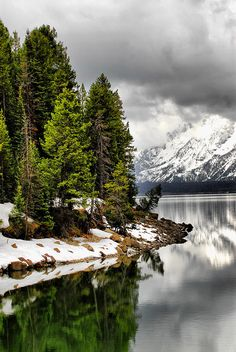 ✮ Jackson Lake - Jackson Hole, Wyoming