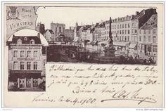 18819g BRASSERIE de Diekirch - PLace Verte - Verviers - 1900
