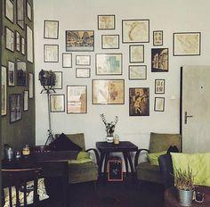 Kawalerka CAFE. interior design. Kraków. Poland