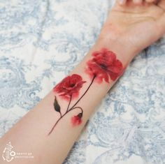 Watercolor flowers by Silo