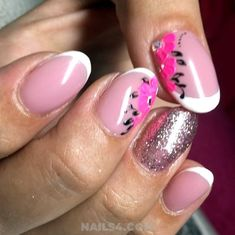 We're now bringing latest french nail designs you definitely need to try! If you're hunting to stay on your best fashion-contest, here are the cult nail art French Nails, Nailart, French Nail Designs, Swag Nails, Gel Nails, Design Ideas, Easy, Style, Nail Gel