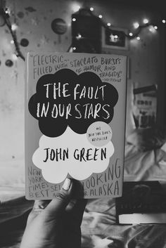 The fault in our stars  Book. Reading this at the moment.