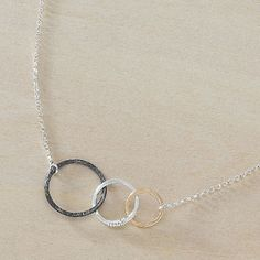 Mother's Day gifts for grandmas | Storied necklace representing three generations | Freshie + Zero