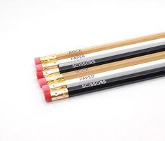 Novelty Pencil Sets....Rock-Paper-Scissors.