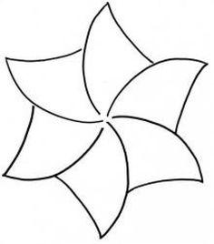 Star Shape Template Stencil Quilt pattern stencil spinning
