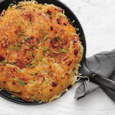 Rosti with Bacon and Scallions  Recipe