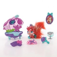 "Disney Princess Palace Pets - Beauty & Bliss - Ariel (Kitty) Treasure -  Blip Toys - Toys""R""Us"