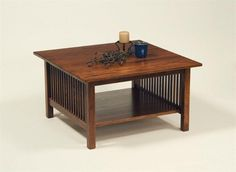 American Mission Square Coffee Table