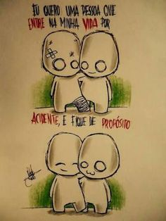 Mas Que fofíneo neh? Oh My Heart, Im Falling, Geek Humor, Love You, My Love, Family Love, Cute Drawings, Flirting, Love Quotes