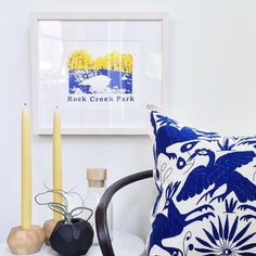 Gorgeous print by /teerritory/ featured here by /saltandsundry/ in our Monterey frame