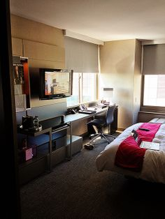 Hotel Room Tour: W Hotel Times Square