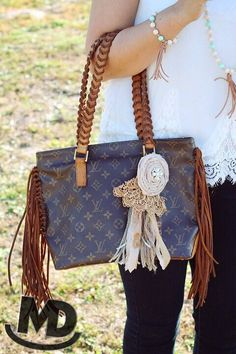 Custom Fringe Piano Cabas Louis Vuitton Collection Fashion Handbags