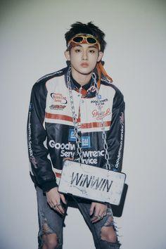 Nct Winwin, Nct 127, Nascar Costume, Johnny Seo, Mode Kpop, Jisung Nct, Mark Lee, Outerwear Women, Jaehyun