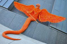 Davesprite cosplay. ----> how do you davesprite cosplayers perfect your wings so amazingly??