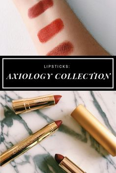 Have you heard of Axiology lipsticks? Made with just 10 organic and wildcrafted ingredients, each lip product in the Axiology line provides earth-based pigments and long-lasting hydration. #lipstick #beauty #selfcare