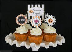 Spooky Pumpkin Cupcakes » Glorious Treats