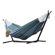 Relax in this adult size hammock