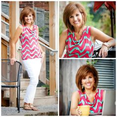 Love her hair! Featured Fixer: Cyndi Spivey