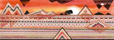 Journey Rectangular Pillow by Sandra Dieckmann - Small x Sandra Dieckmann, Parts Of A Book, Navajo Style, Southwestern Art, Doodle Inspiration, Canvas Prints, Art Prints, Art Pictures, Cool Art
