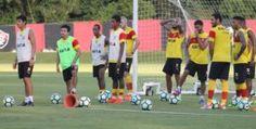 Vitória na Veia! De olho no Vasco, Vitória se reapresenta e treina na Toca do Leão - Vitória na Veia!