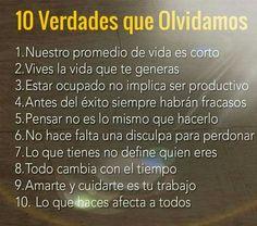 No te olvides de estas Verdades!! #anabelycarlos #cerrandopuertas #unanuevaetapa