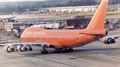 #Braniff #747 @ Gatwick in #1981. @classicairline