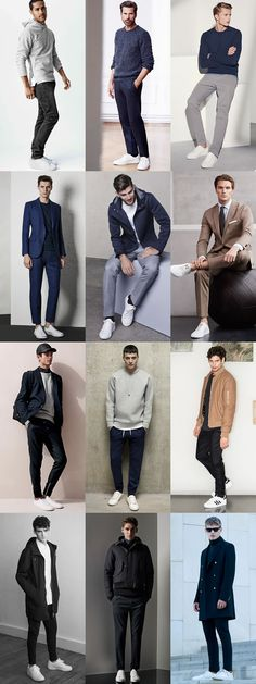2015 Autumn/Winter Styling Tips To Try Now: Muted Looks, White Trainers Lookbook Inspiration