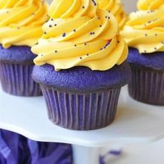 You are what you eat: Purple and Gold!! #LSU