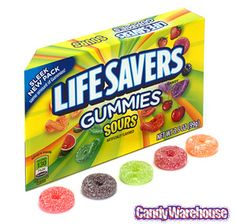 Just found Life Savers Gummies Candy 3.5-Ounce Packs - Sours: 12-Piece Box @CandyWarehouse, Thanks for the #CandyAssist!