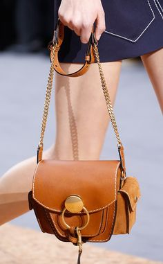 Chloé Banks on Mini Bags for Spring 2016