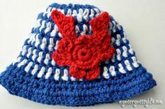My Merry Messy Life: Crochet Crab Appliqué {free crochet pattern}