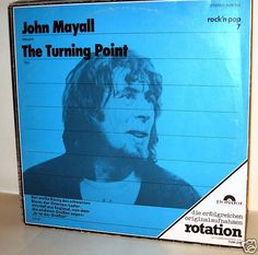 JOHN MAYALL -  The Turning Point *Polydor2428303* 69 LP