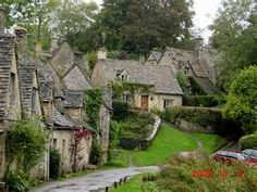 Bilbury, England - William Morris called this the most beautiful village in the world.