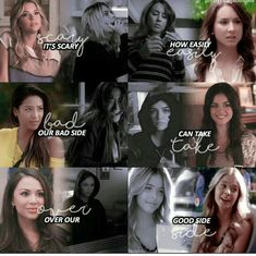 Pll Quotes, Pll Memes, Preety Little Liars, Pretty Little Liars Quotes, Red Band Society, Girl Meets World, Quote Posters, Stranger Things, Favorite Tv Shows