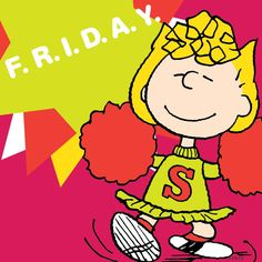 More like Fri-Yay! Snoopy Friday, Friday Yay, Happy Friday, Charlie Brown Quotes, Charlie Brown And Snoopy, Peanuts Characters, Fictional Characters, Cartoon Characters, Holiday Meme