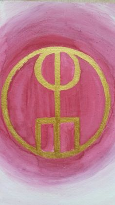 I made my first #sigil today. It captures energy and returns it back to the sender #Galdrastafir