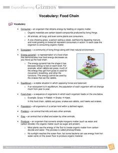 Pond Ecosystems - GIZMO - www.explorelearning.com ...