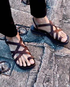 Logan Gladiator Sandals by sixthempire on Etsy