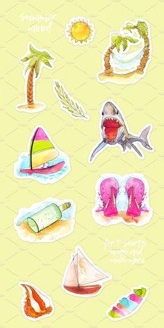 Aloha!!! Time to Relax  by Spasibenko Art on @creativemarket
