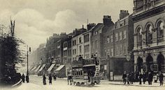 Upper Street, in Highbury, London  c.1900.