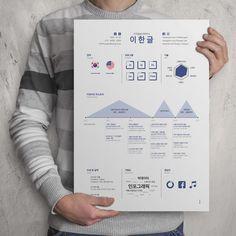 인포그래픽 이력서 디자인 Keynote Design, Cv Design, Resume Design, Print Design, Graphic Design Inspiration, Portfolio Design, Curriculum, Infographic, Self
