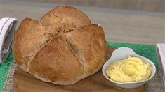 This vibrant rosemary bread is easy to make at home