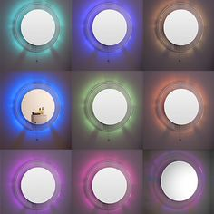 Colour Changing LED Mirror 600mm - Led Mirrors - Bathroom Mirrors - Bathroom Furniture - Bathrooms