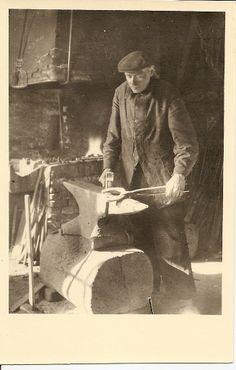 Hoefsmid begin jaren 1910